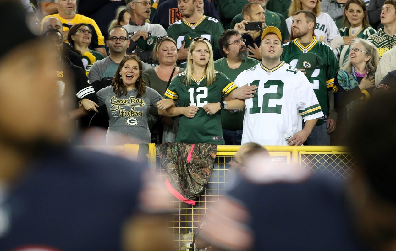 The Green Bay Packers and Chicago Bears game had a shockingly high TV rating in Buffalo. (Brian Cassella/Chicago Tribune/TNS)