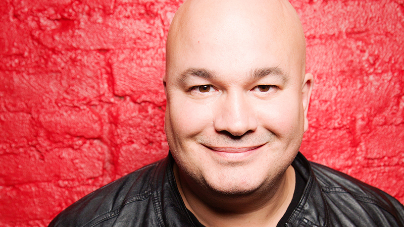 Comedian Robert Kelly on Buffalo: '(It) has the best people.' He has four shows at Helium Comedy Club Sept. 15-16. (Courtesy of Helium)