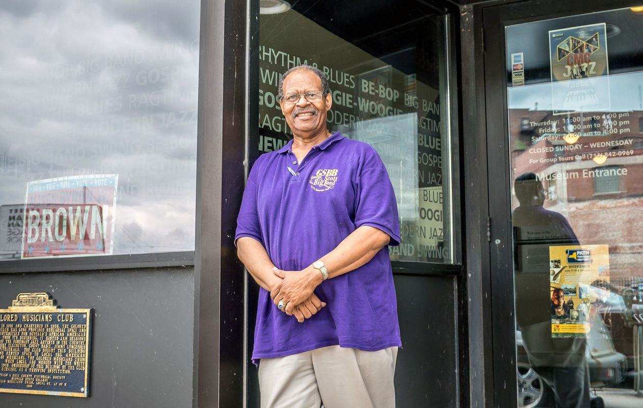 George Scott, president of the Colored Musicians Club. (Dave Jarosz)