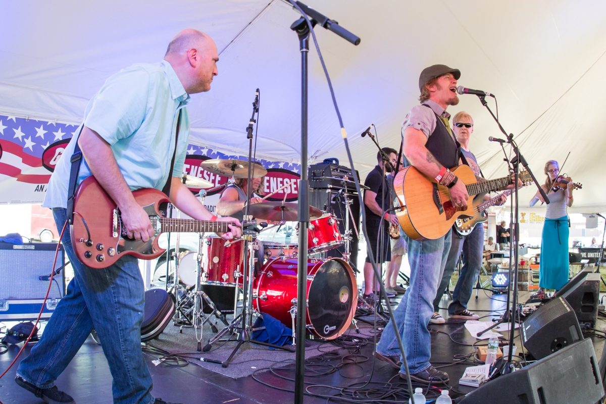 The 3rd annual Sportsmen's Americana Music Foundation Music Festival will kick off at 2 p.m. Sept. 16 at Buffalo's River Fest Park.