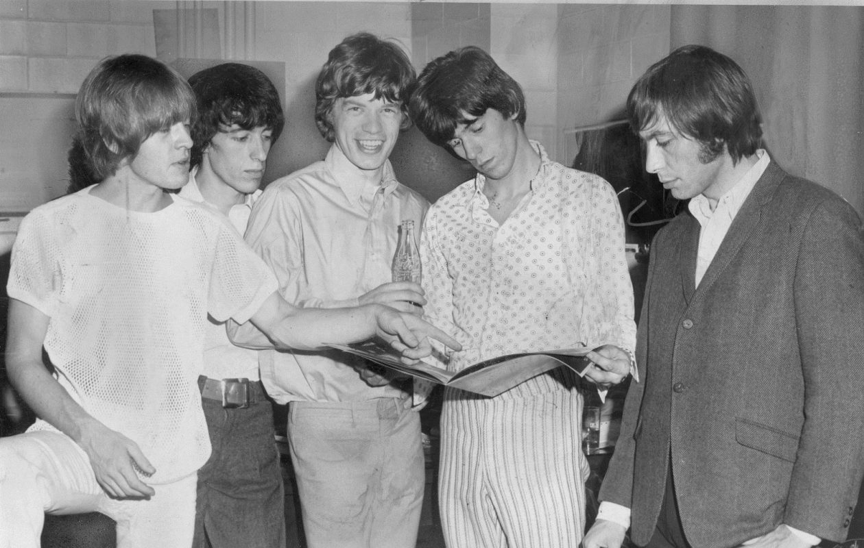 The Rolling Stones shown in this  Aug. 13, 1966 file photo when they appeared in Buffalo on a tour. (Photo by Ralph E. Hinkson)