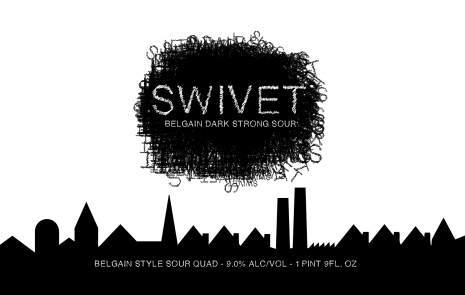 Local brewery Community Beer Works will release Swivet this week. (via CBW)