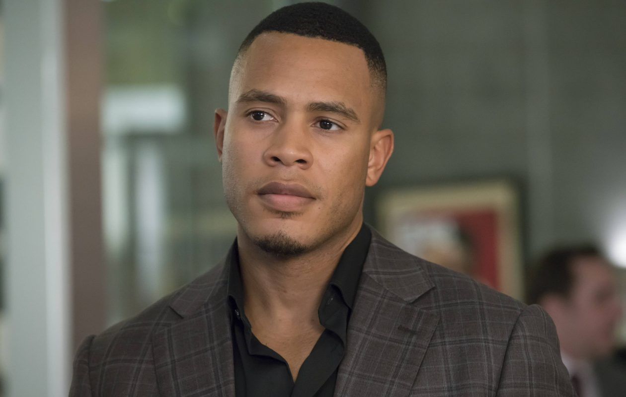 EMPIRE: Trai Byers in the 'Chimes at Midnight' episode of EMPIRE airing Wednesday, Nov. 9 (9:00-10:00 PM ET/PT) on FOX. ©2016 Fox Broadcasting Co. CR: Chuck Hodes/FOX