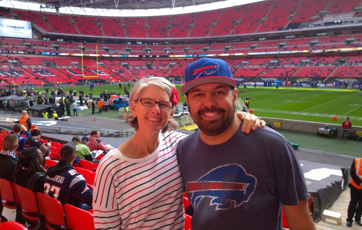 Andrew Miano and his wife. (Provided photo)