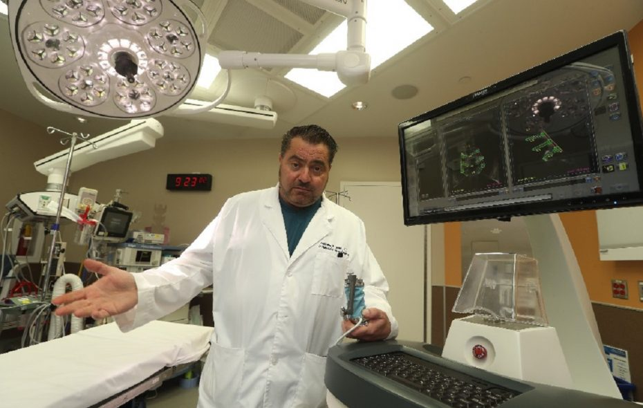 Dr. Anthony Leone. (John Hickey/Buffalo News)