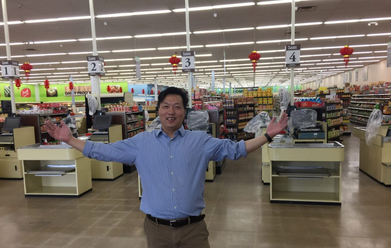 Rockey Ren wants to change the way Western New York buys Asian groceries. (Andrew Galarneau/Buffalo News)