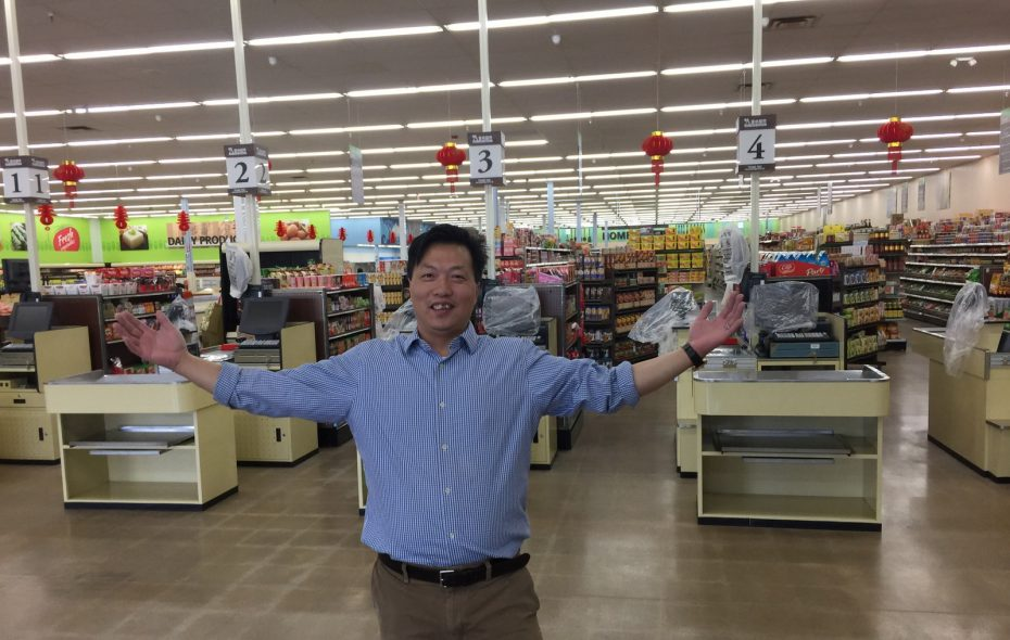 Rockey Ren wants to change the way Western New York buys Asian groceries. (Andrew Galarneau/Buffalo News)
