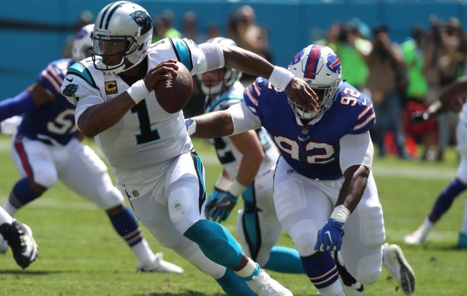 The Bills' defense has allowed just 469 total yards in the first two weeks, compared to 801 yards in their first two games last season. (James P. McCoy/Buffalo News)