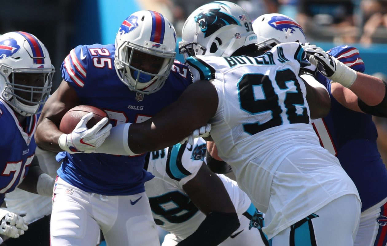 LeSean McCoy and the Buffalo Bills will face another tough run defense in Week Two when the Denver Broncos come to town. (James P. McCoy/Buffalo News)