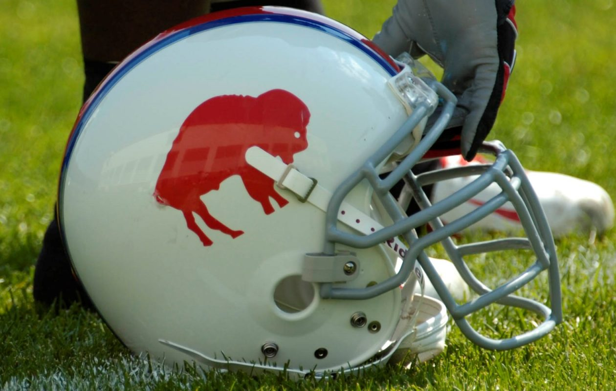 The Bills went 3-10 while wearing the throwback standing bison helmet between 2005 and '12, but have won three of their last four since, while wearing the lid. (James P. McCoy/News file photo)