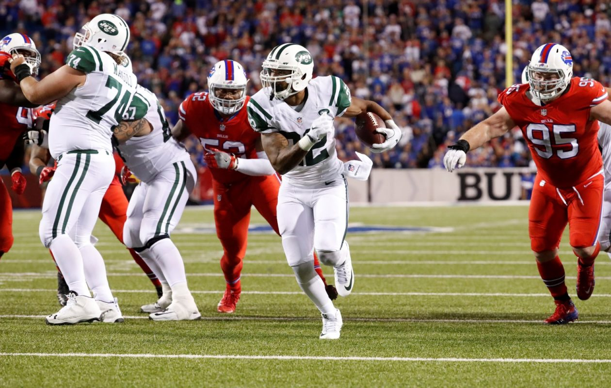 The Jets have Matt Forte on offense, but what else? (Harry Scull Jr./Buffalo News)