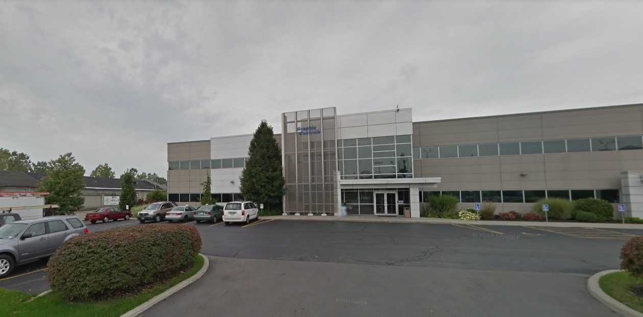 Graphic Controls has offices on Exchange Street in Buffalo. (Google Images)