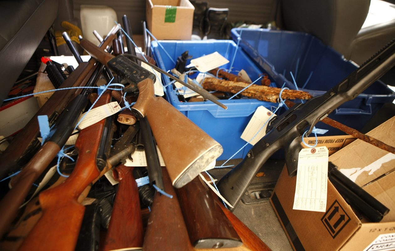 There's no evidence gun buybacks have any effect on crime, academic research has found. (Derek Gee/Buffalo News file photo}