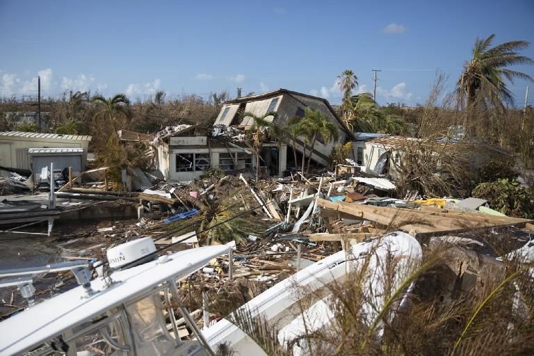 Destruction caused by Hurricane Irma in Florida. (The New York Times)