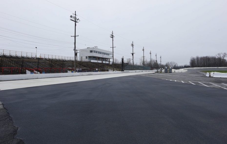 New York International Raceway Park, formerly known as Lancaster Speedway, has presented motorsports competition almost continuously since it first opened in 1959. (Harry Scull Jr./News file photo)