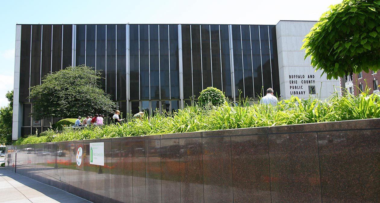 The Central Library in downtown Buffalo. (News file photo)