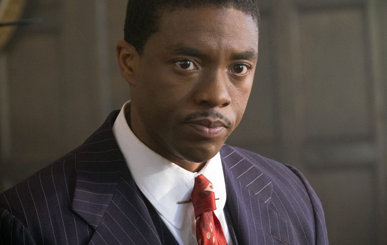 Chadwick Boseman stars in the title role of the Buffalo-made film 'Marshall.'