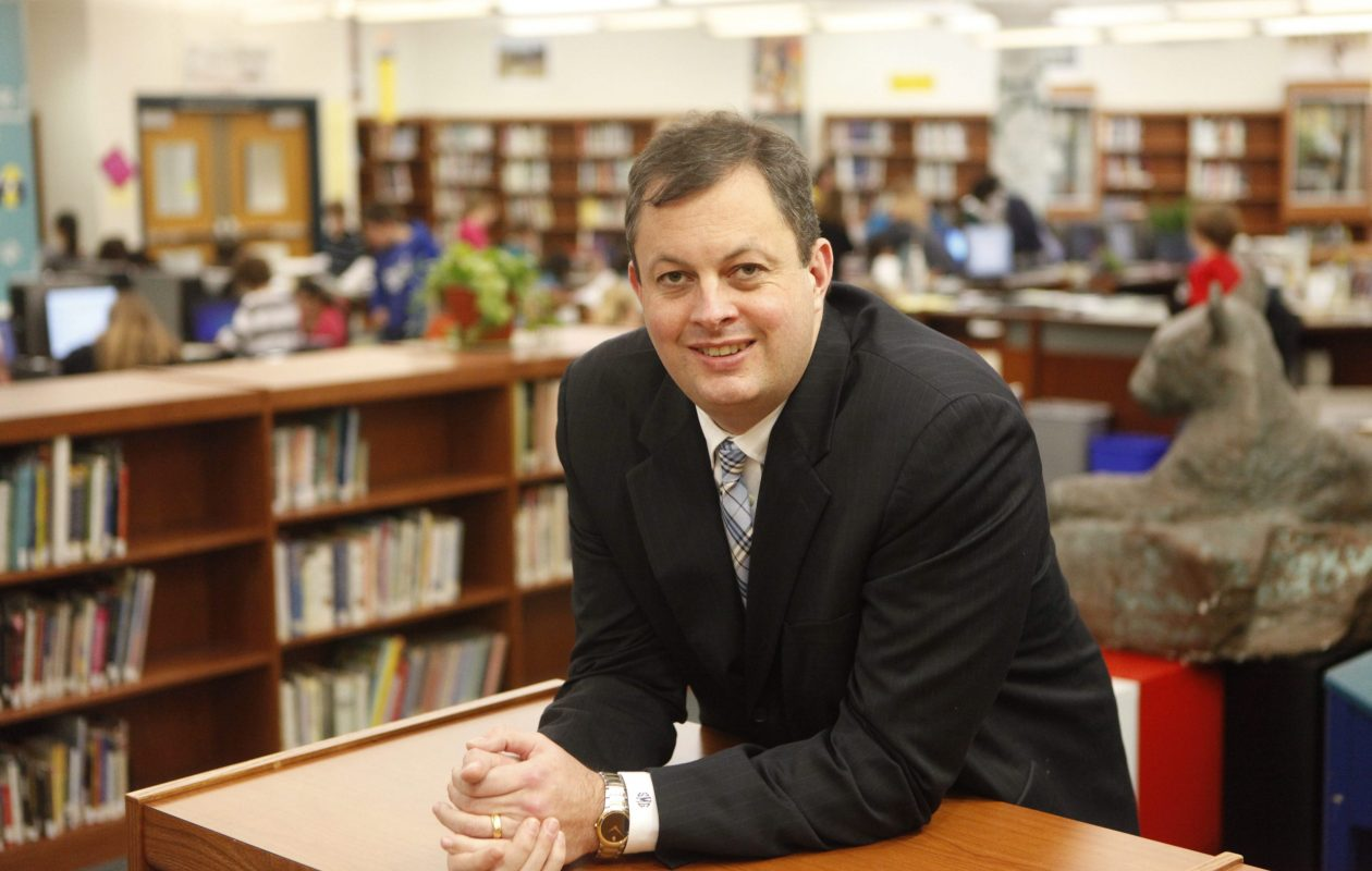 Williamsville School Superintendent Scott Martzloff has received a raise and a contract extension from the School Board. (Derek Gee/Buffalo News file photo)