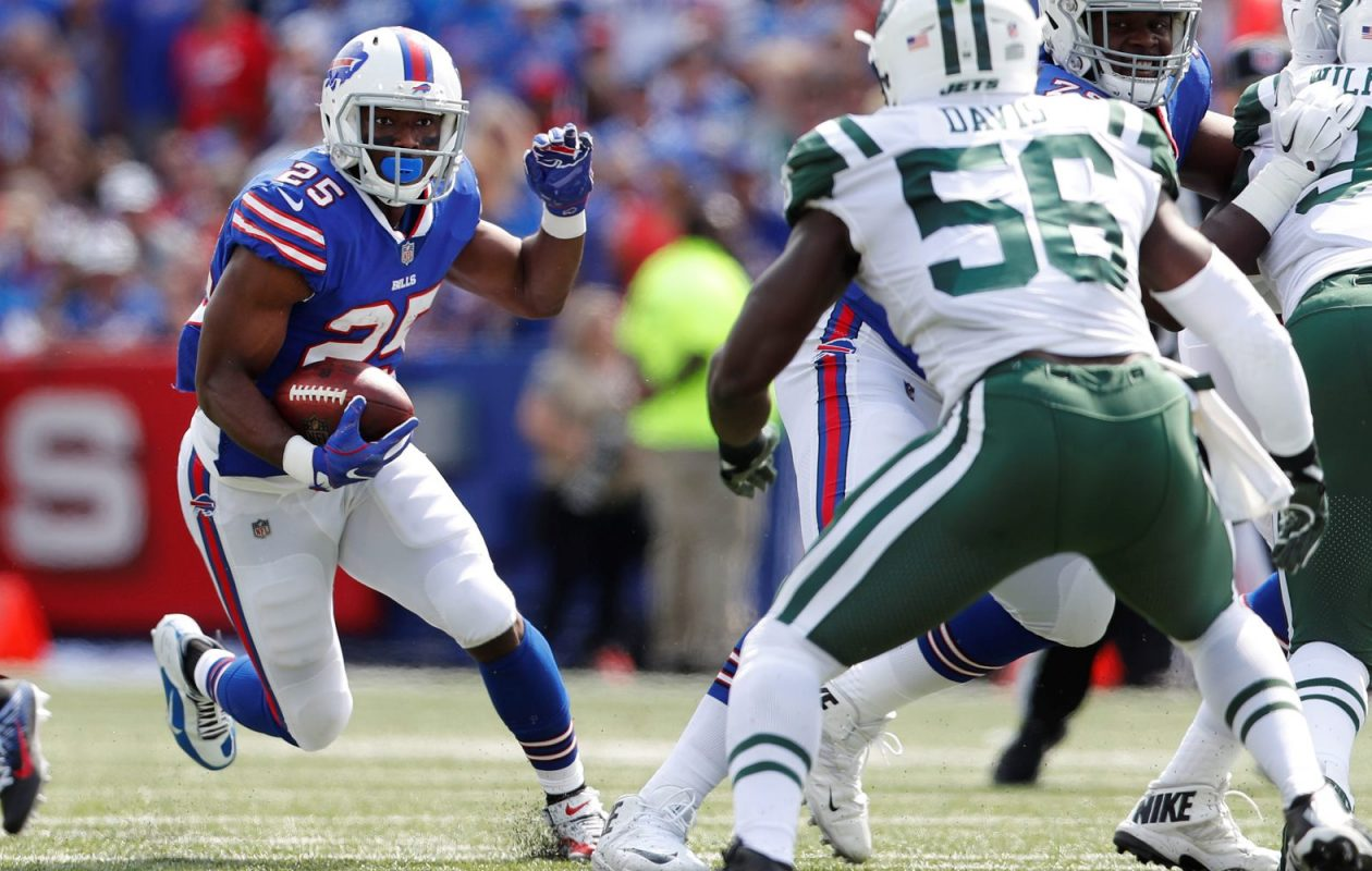 LeSean McCoy ranks third in the NFL in rushing after Week One. (Mark Mulville/Buffalo News)