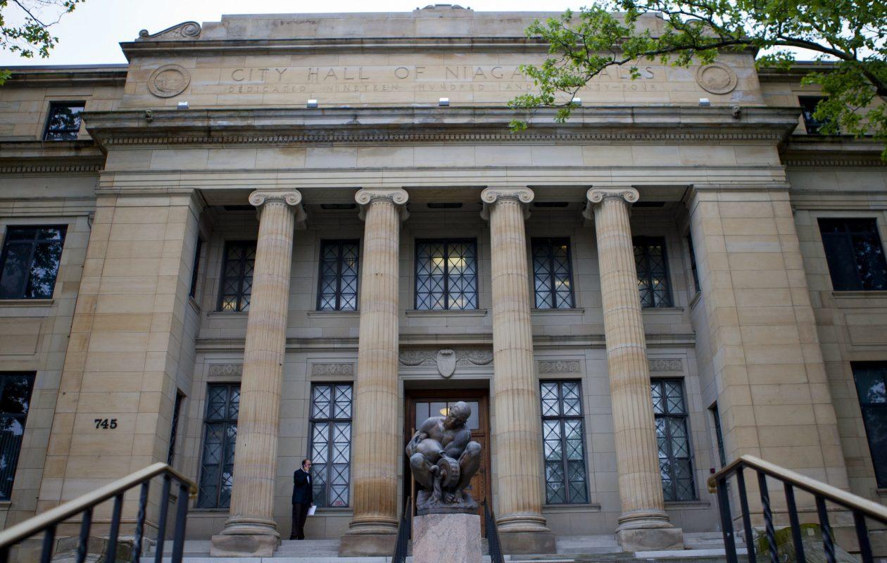 Niagara Falls City Hall, 745 Main St. (Buffalo News file photo)