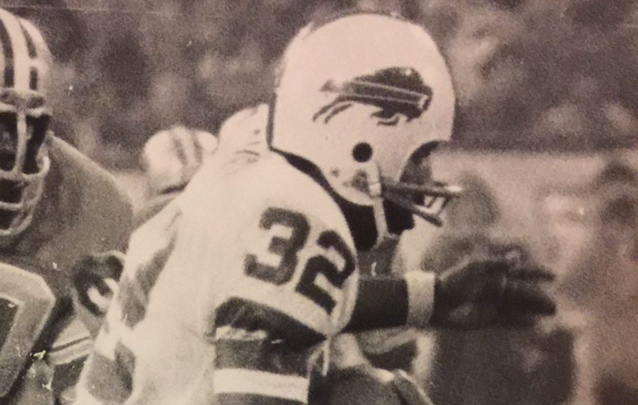 O.J. Simpson wore Buffalo Bills jersey No. 32. (Buffalo News file photo)