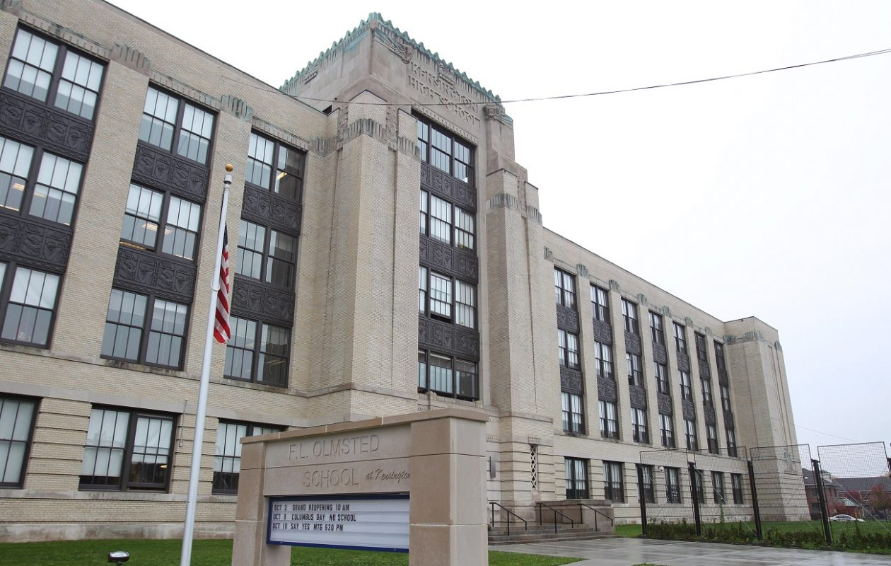 A 16-year-old student is accused of taking video of another student urinating and posting it online. (Sharon Cantillon/Buffalo News file photo)