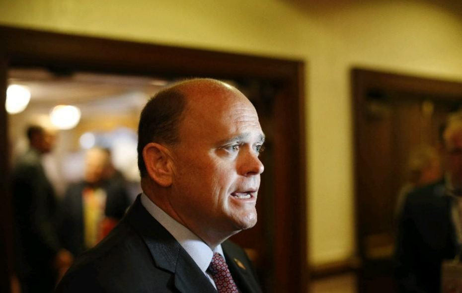"""The race between incumbent Rep. Tom Reed and challenger Tracy Mitrano has been labeled """"competitive."""" (News file photo)"""