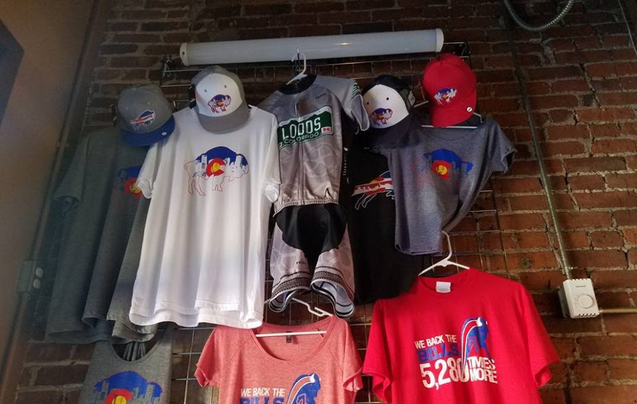 """The Colorado Bills Backers' slogan is """"We back the Bills 5,280 times more,"""" in reference to the region's altitude. (Courtesy of Scott Malchow)."""