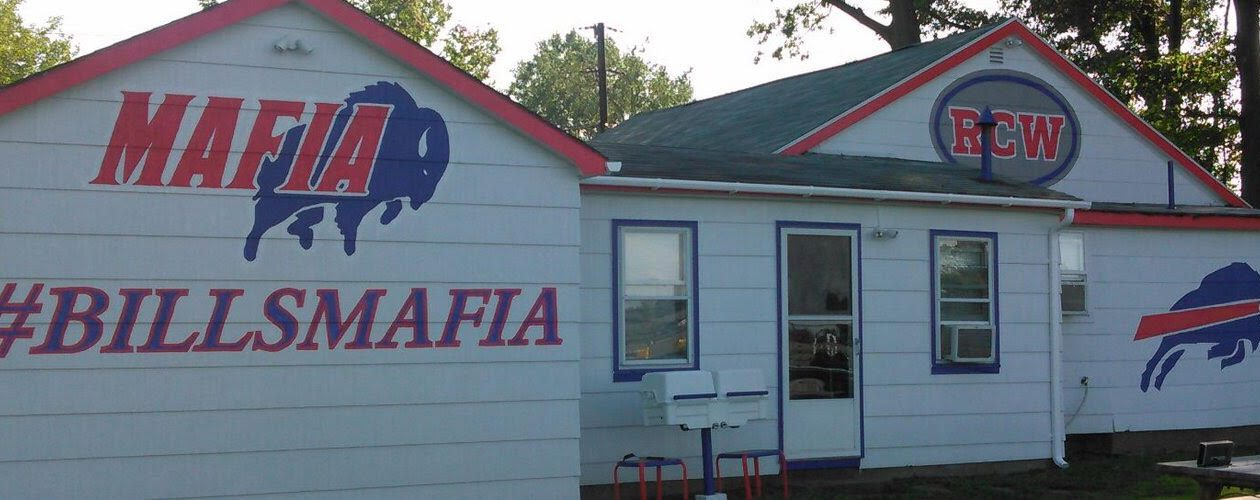 Some Bills fans have taken the #BillsMafia movement to heart – and to paint.
