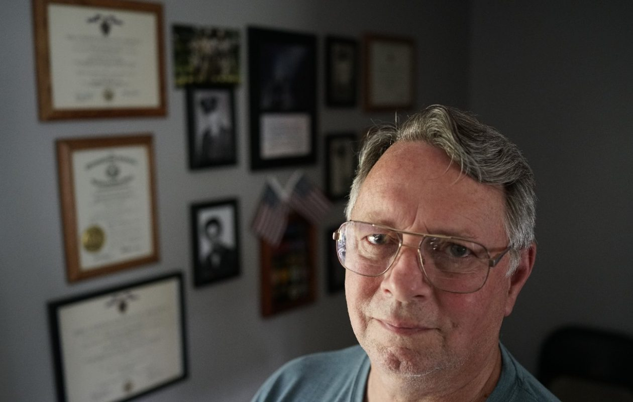 After stiffing the Navy, Jerry Lagenor served two tours of duty in Vietnam with the Army, where he was wounded twice and earned two Purple Hearts and two Bronze Stars. (Derek Gee/Buffalo News)