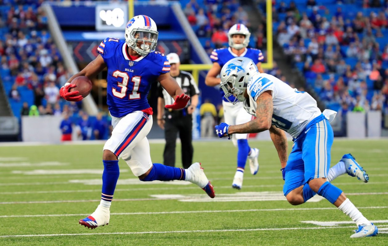 Jonathan Williams' release was a topic on the Daily Drive podcast. (Harry Scull Jr./Buffalo News)