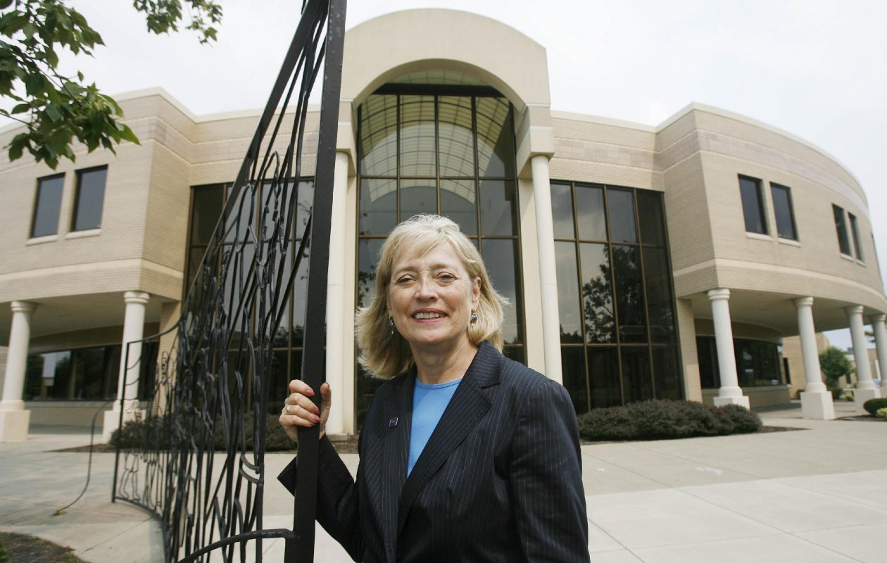 Hilbert College President Cynthia Zane announced Thursday she will retire at the end of the academic year in June. (Mark Mulville / Buffalo News)