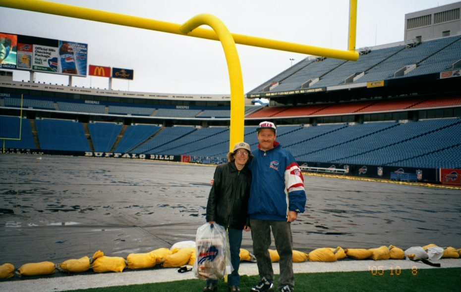 Philip Pope and his wife, Tami, in Orchard Park in 2005. (Provided photo)
