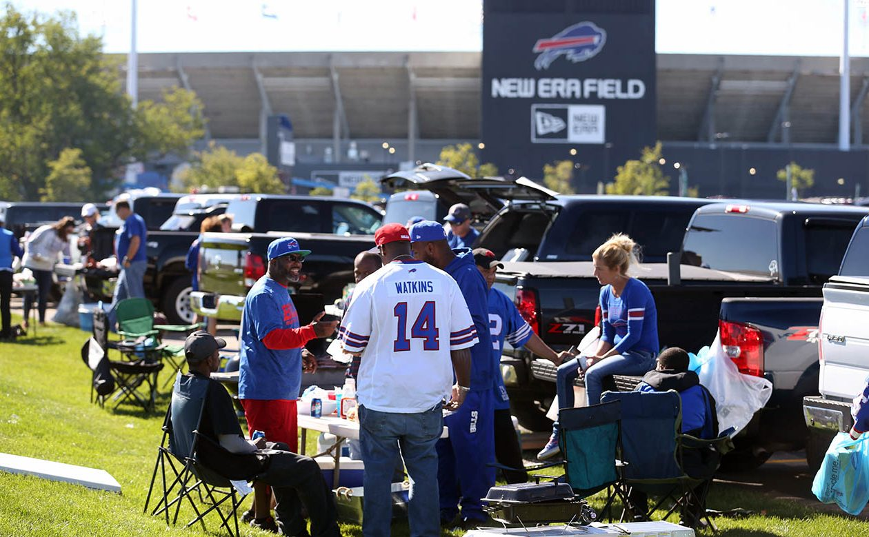 Don Paul is predicting another beautiful day for Sunday's Bills game. (Sharon Cantillon/News file photo)