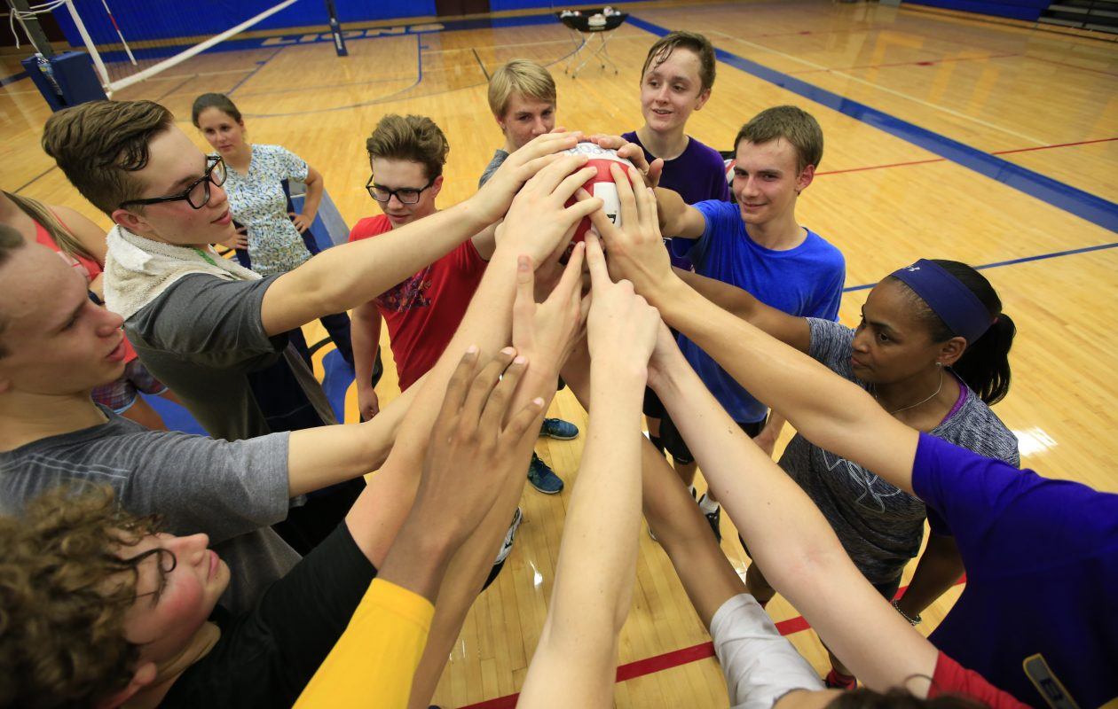 Lockport boys volleyball won another tournament and moved up in this week's Power 10. (Harry Scull Jr./The Buffalo News)