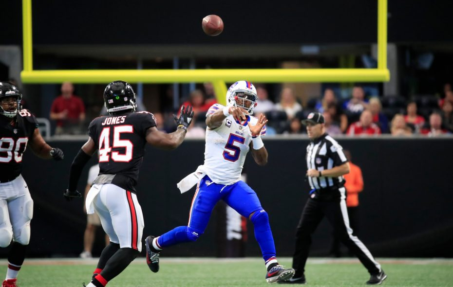 Statistically, Tyrod Taylor has been one of the best quarterbacks in the history of the Buffalo Bills  franchise. (Harry Scull/Buffalo News)