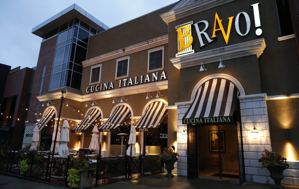 Restaurant Row at the Walden Galleria. (Sharon Cantillon/Buffalo News)