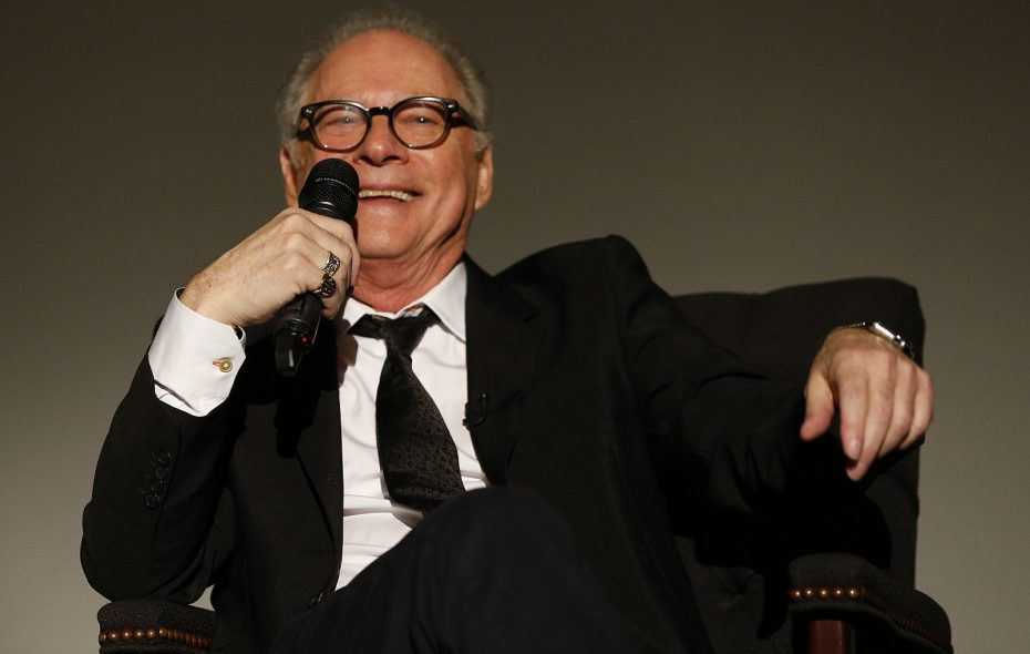 "Director Barry Levinson told a Buffalo audience how ""The Natural"" helped his career take off. (Sharon Cantillon/Buffalo News)"