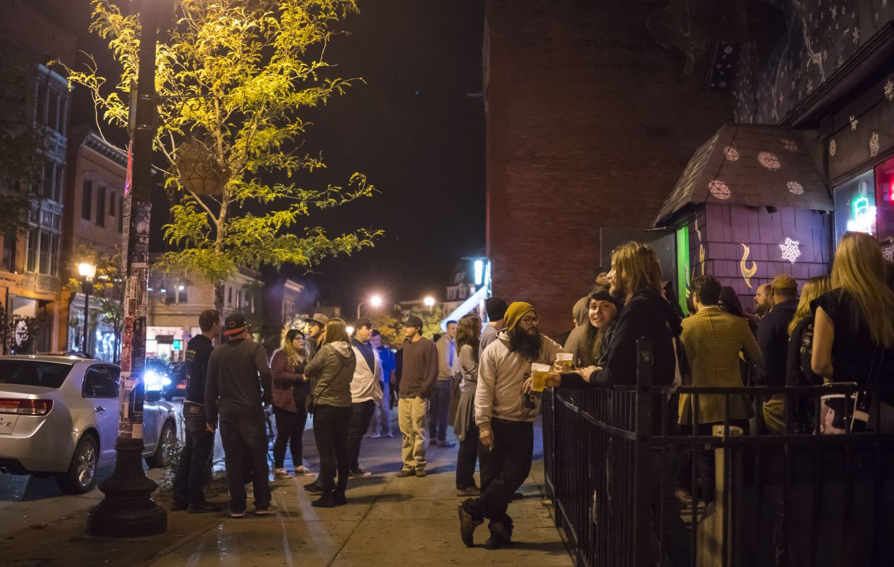 Allentown will fill with art-walkers on April 6 for the first Allentown First Fridays Gallery Walk of spring. (Derek Gee/Buffalo News)