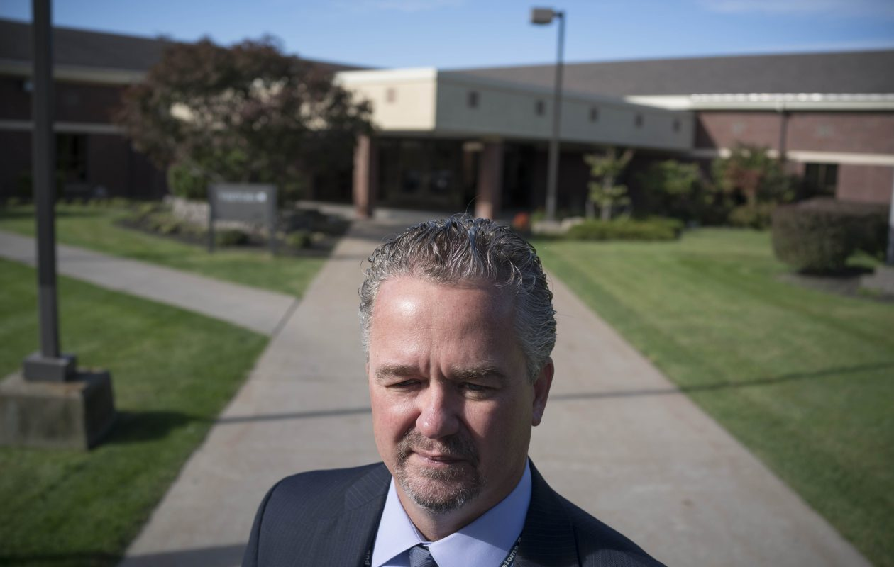 'Everyone is fair game,' said Thomas Feeley, the new Buffalo field office director for Immigration and Customs Enforcement, photographed outside the Federal Detention Center in Batavia. 'I think people want us to apologize for what we do, and that's not going to happen.' (Derek Gee/Buffalo News)