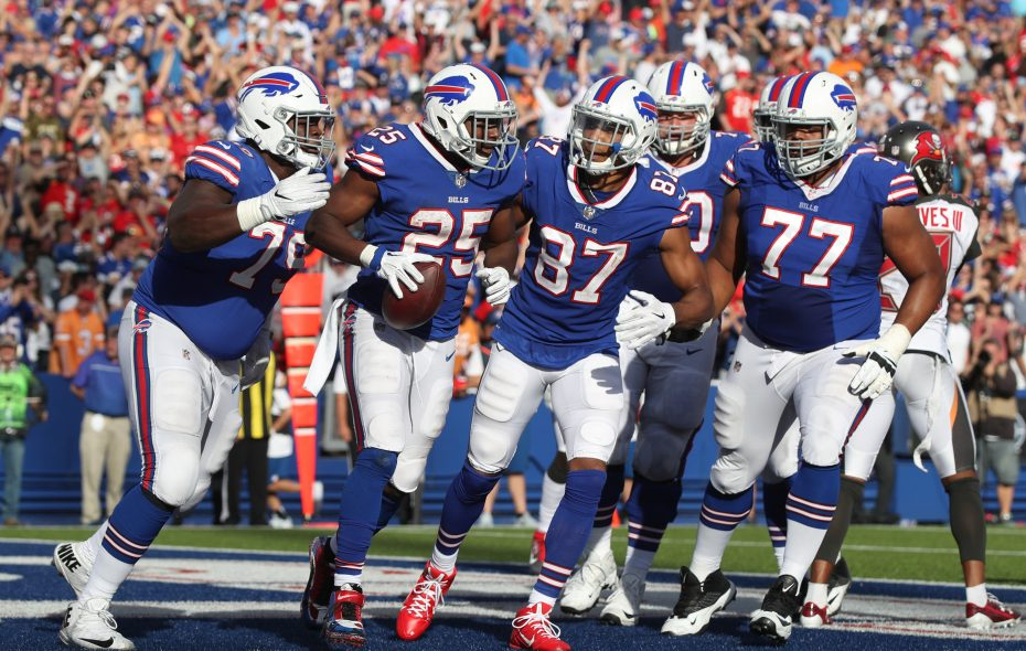 LeSean McCoy and the Bills' rushing attack got back on track Sunday against the Buccaneers. (James P. McCoy/Buffalo News)