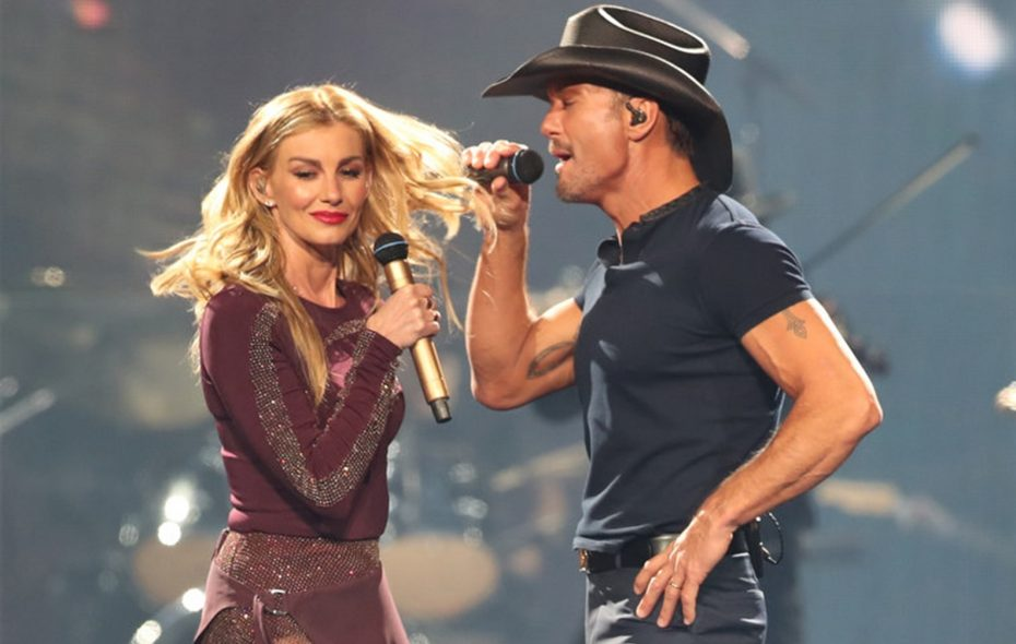 Tim McGraw and Faith Hill perform in concert at KeyBank Center. Sharon Cantillon/Buffalo News
