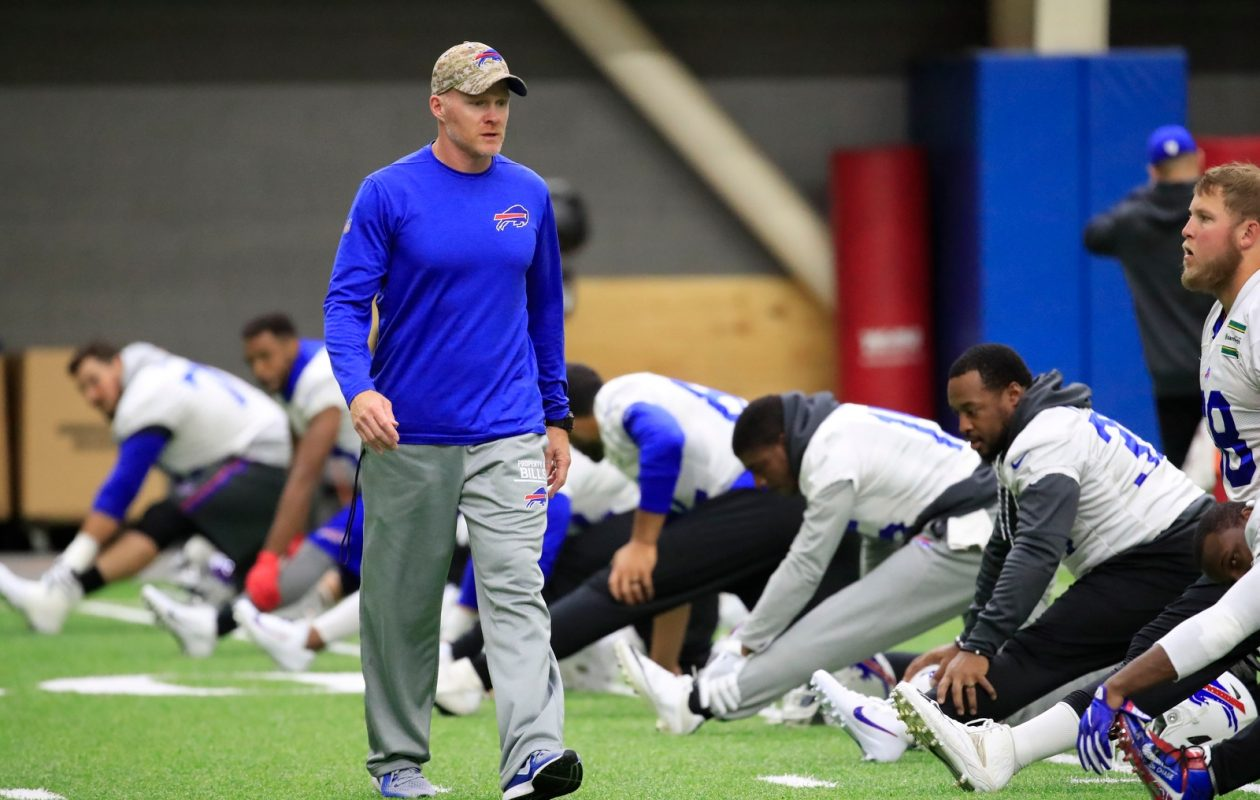 For Bills coach Sean McDermott, it's all about the 'process.' (Harry Scull Jr./Buffalo News)