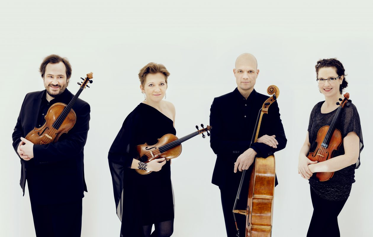 The Artemis Quartet, from Berlin, Germany, will be performing American music as part of a new series at SUNY Buffalo State College. (Photo by Felix Broede.)