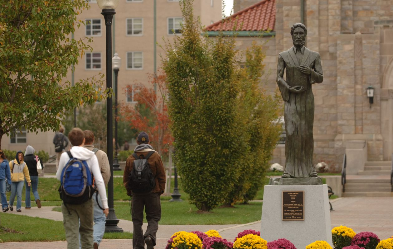 Canisius College announced its current tuition of $34,966 will drop next fall by 23 percent to $27,000.(Sharon Cantillon/News file photo)