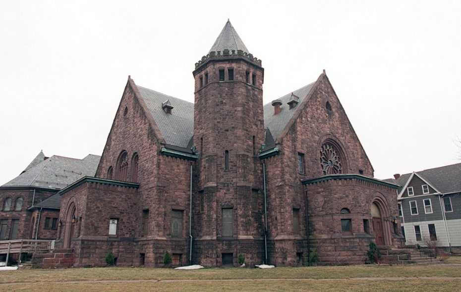 The former United Methodist Church on Richmond and West Ferry. (News file photo)