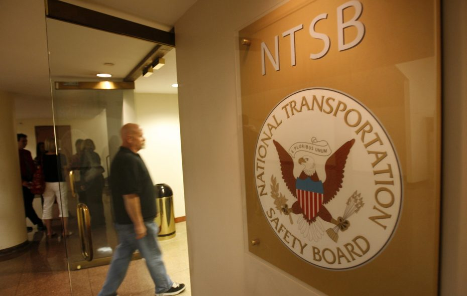 The father of a passenger killed in the 2009 crash of Flight 3407 arrives at the NTSB Conference Center for the hearings into the crash.  (Derek Gee/Buffalo News)
