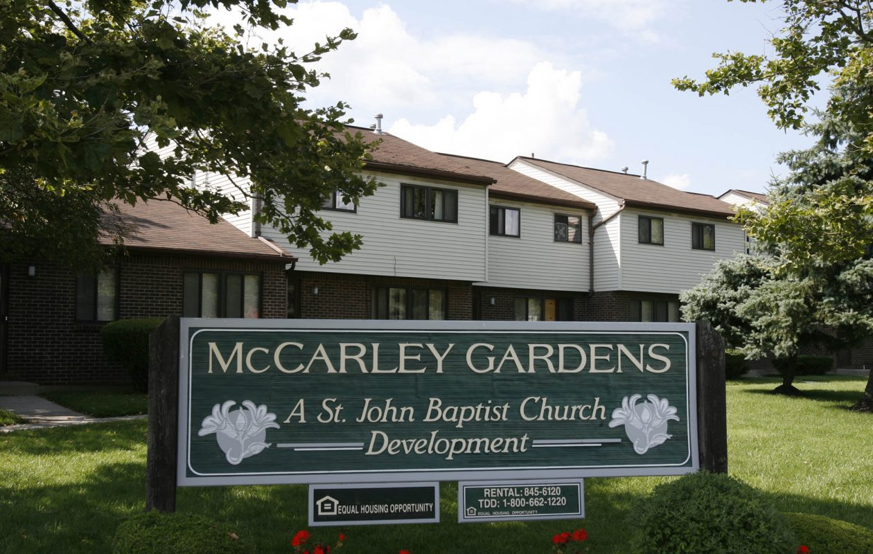 Sinatra & Company Real Estate plans to renovate 135 housing units and build 15 new units in McCarley Gardens near the Buffalo Niagara Medical Campus.     (Harry Scull Jr./ Buffalo News)