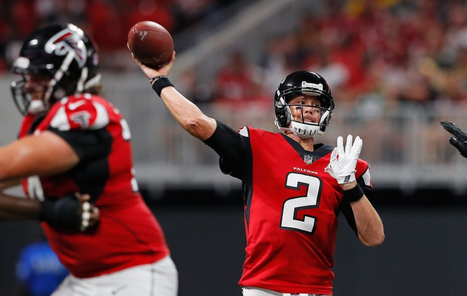 Matt Ryan and the Falcons get their rematch, of sorts, when they face the Patriots on Sunday night.