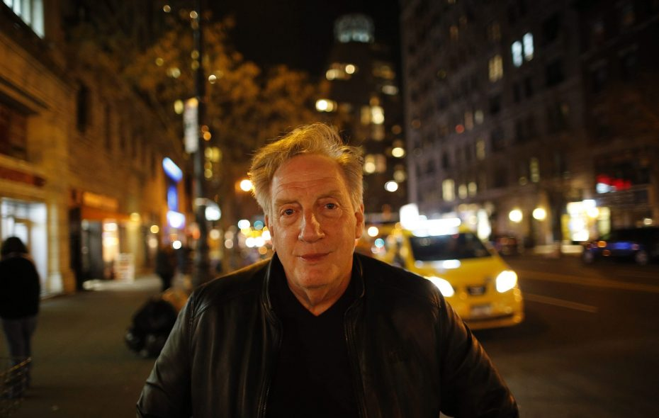 Alan Zweibel on West 72nd Street after performing in Celebrity Autobiography at The Triad in Manhattan. (Derek Gee/Buffalo News)